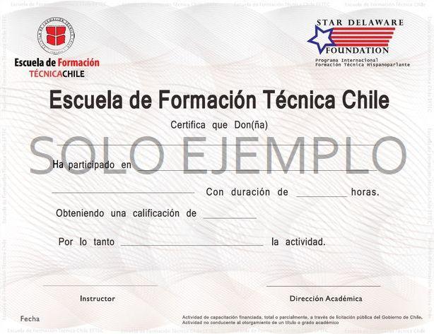 certificado de ejemplo